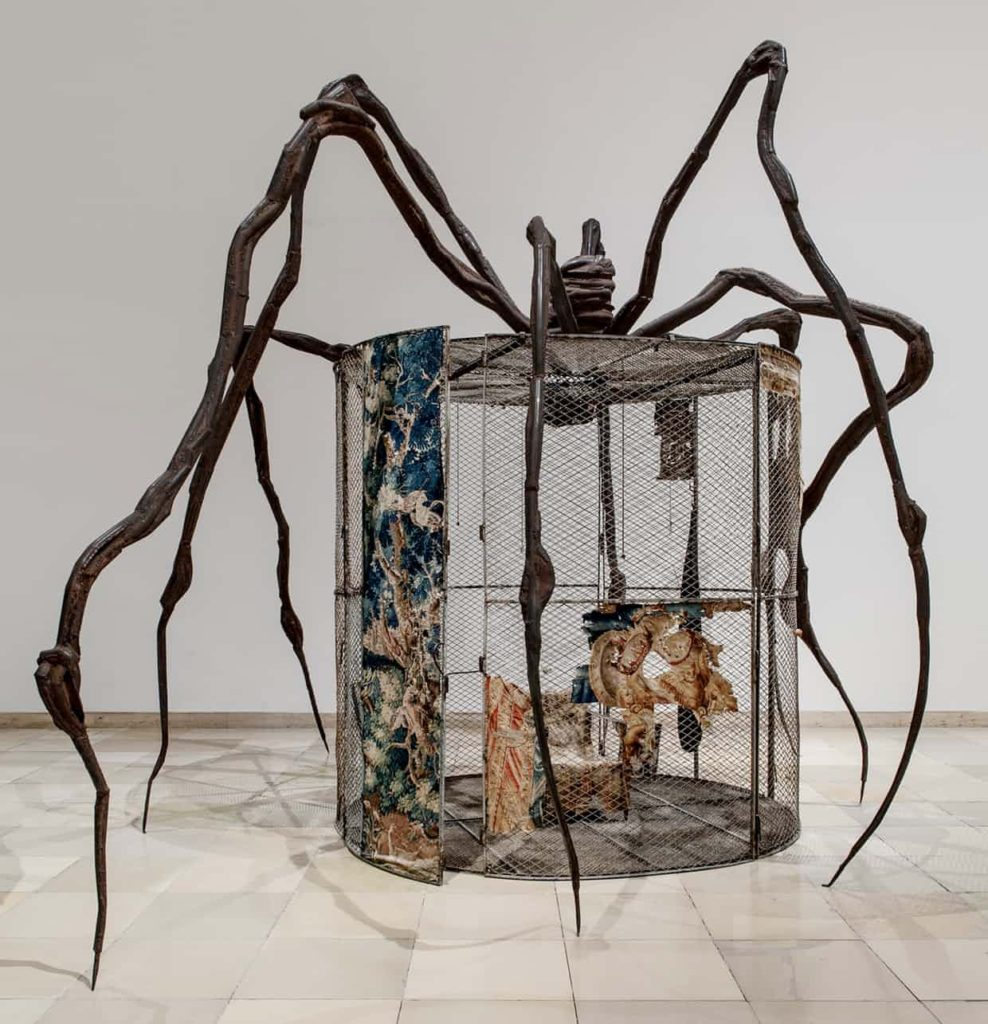 "Fotografía de la obra ""Araña (1997)"" de Louise Bourgeois"