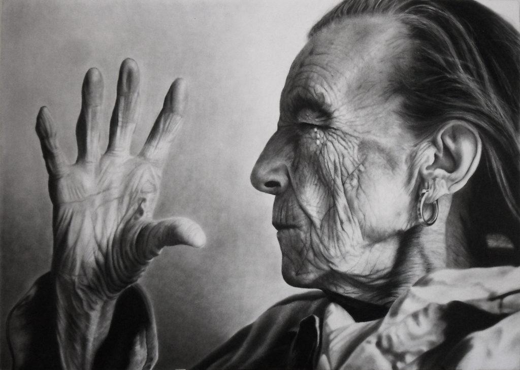 mujeres artistas, retrato de Louise Bourgeois